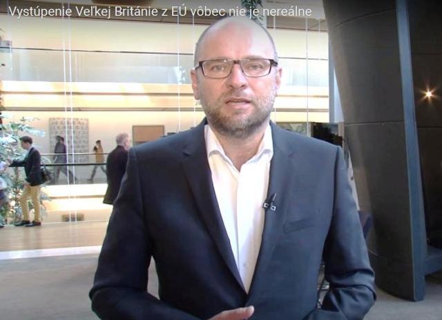 Na snímke predseda strany SaS a europoslanec za ECR Richard Sulík