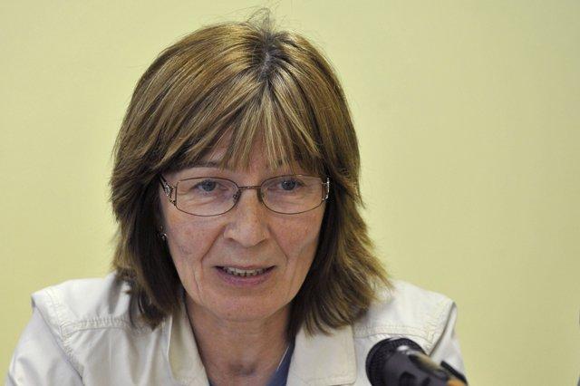 Na snímke riaditeľka kancelárie WHO v SR Darina Sedláková