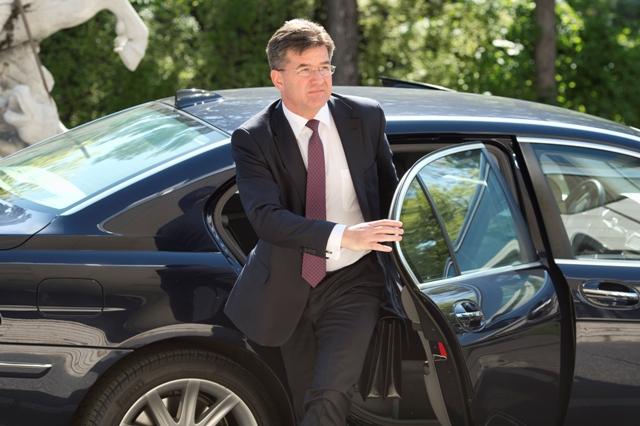 Na snímke minister zahraničných vecí a európskych záležitostí SR Miroslav Lajčák