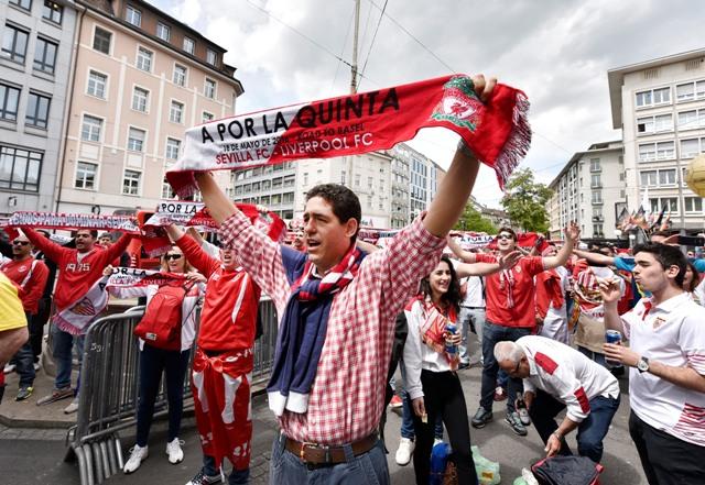 Fanúšikovia FC Sevilla