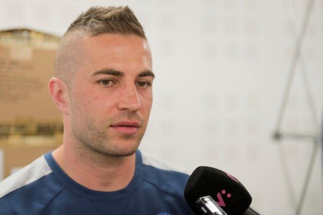 Na snímke futbalista Stanislav Šestá
