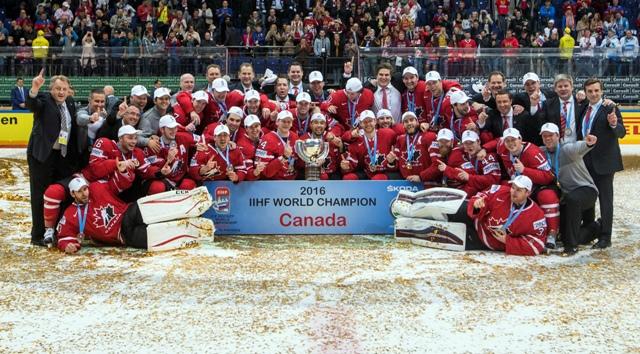 Hokejisti Kanady zvíťazili vo finále 80. MS v Rusku nad Fínskom 2:0 a obhájili titul majstrov sveta v Moskve