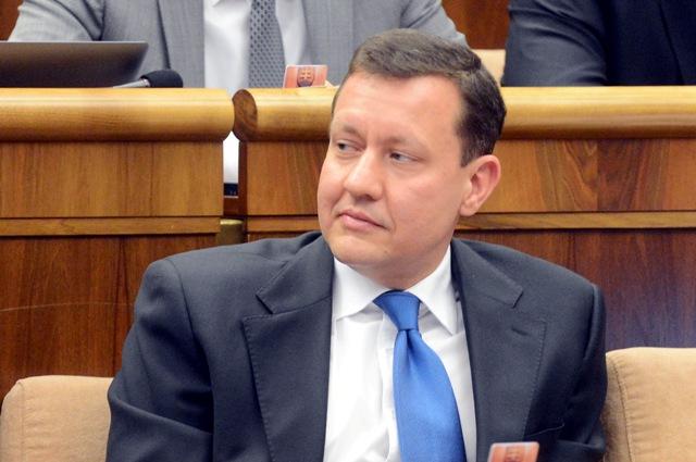 Na snímke poslanec Daniel Lipšic (OĽANO-NOVA)