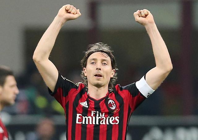 Na snímke hráč AC Miláno Riccardo Montolivo