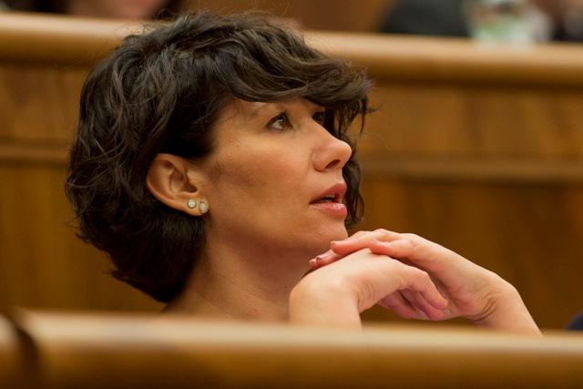 Na snímke podpredsedníčka NR SR Lucia Nicholsonová (SaS)