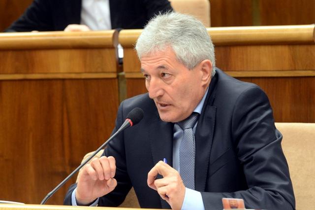 Na snímke poslanec Alan Suchánek (OĽANO-NOVA)