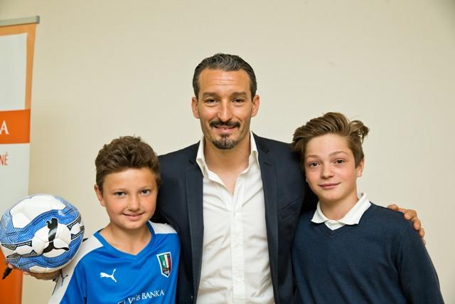 Patronát nad ďalším ročníkom Italia Soccer Camp prevzal majster sveta z roku 2006, Gianluca Zambrotta