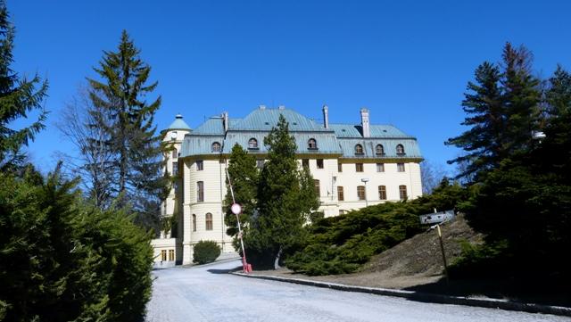 Na snímke Odborný liečebný ústav psychiatrický v Prednej Hore