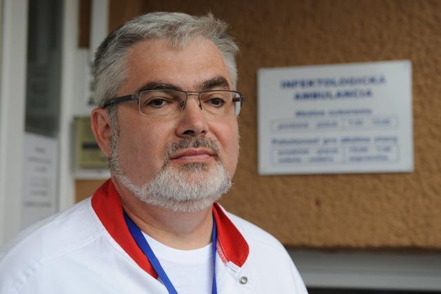Na snímke primár KICM Ladislav Virág