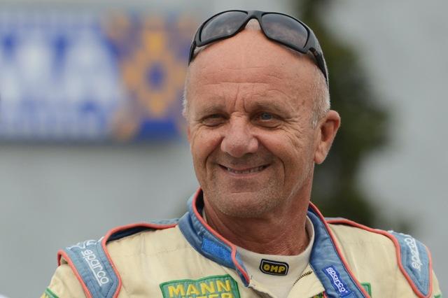 Na snímke slovenský automobilový veterán Igor Drotár