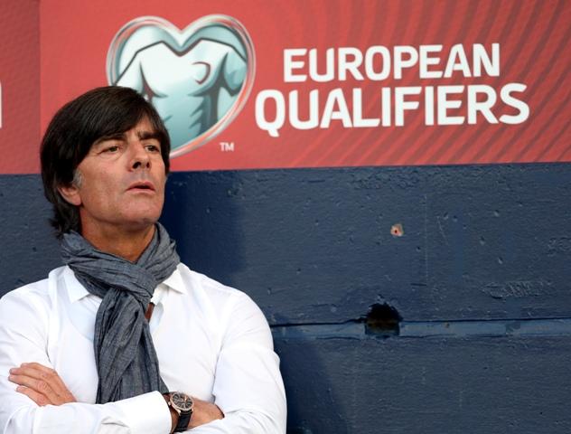 Na snímke tréner nemeckej futbalovej reprezentácie Joachim Löw