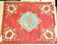 Niektoré časti historickej zástavy boli veľmi poškodené, opotrebovaná zástava sa už nedá používať
