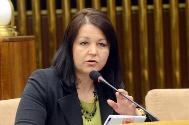 Na snímke poslankyňa Erika Jurinová (OĽANO-NOVA)