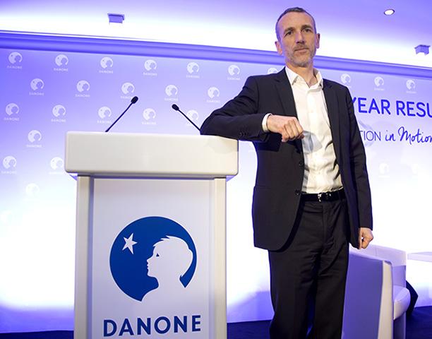 Výkonný riaditeľ francúzskeho  potravinového koncernu Danone Emmanuel Faber