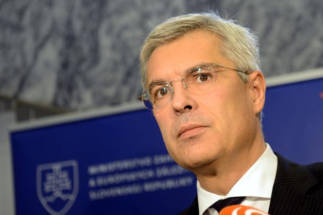 Na snímke splnomocnenec vlády SR pre prípravu predsedníctva SR v Rade EÚ a štátny tajomník MZVaEZ SR Ivan Korčok