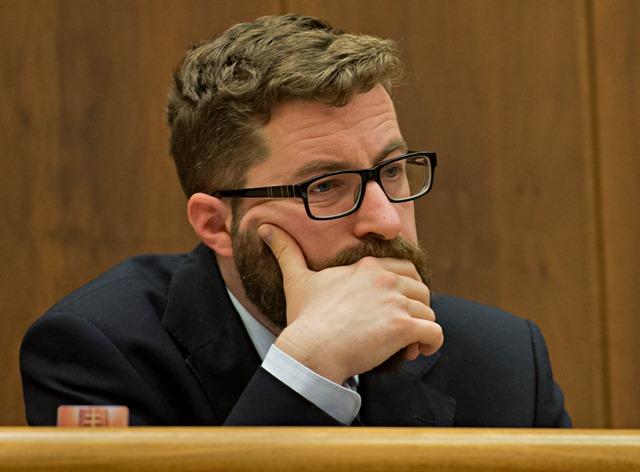 Na snímke poslanec NR SR Martin Poliačik (SaS)