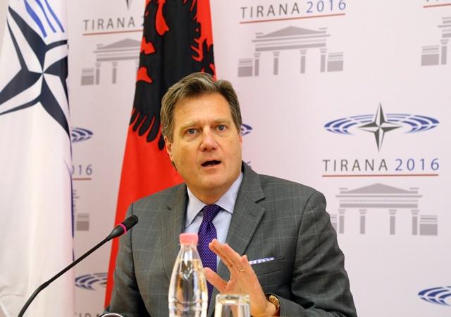 Na snímke predseda Parlamentného zhromaždenia OSN Michael Turner