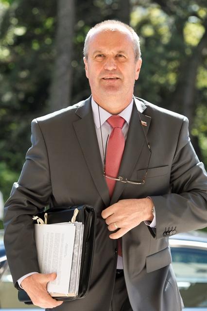 Na snímke minister obrany SR Peter Gajdoš