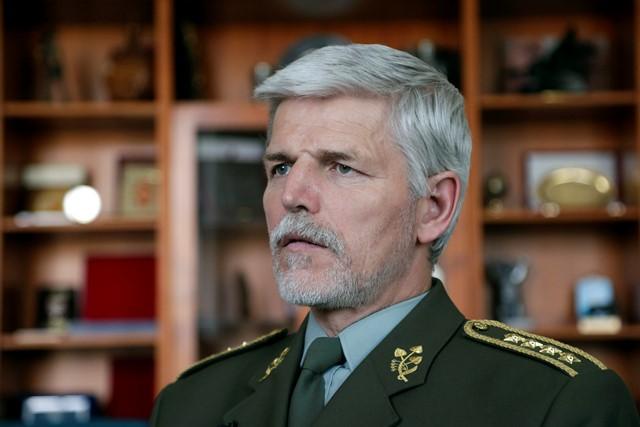 Na snímke predseda Vojenského výboru NATO, český generál Petr Pavel