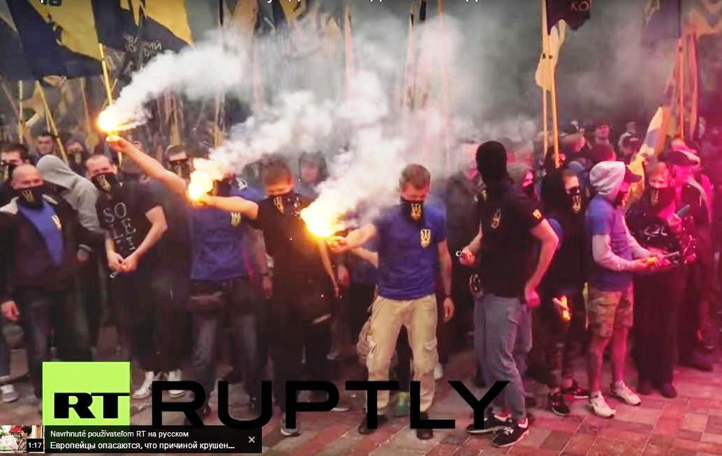 Pochod Azovu v Kyjeve4