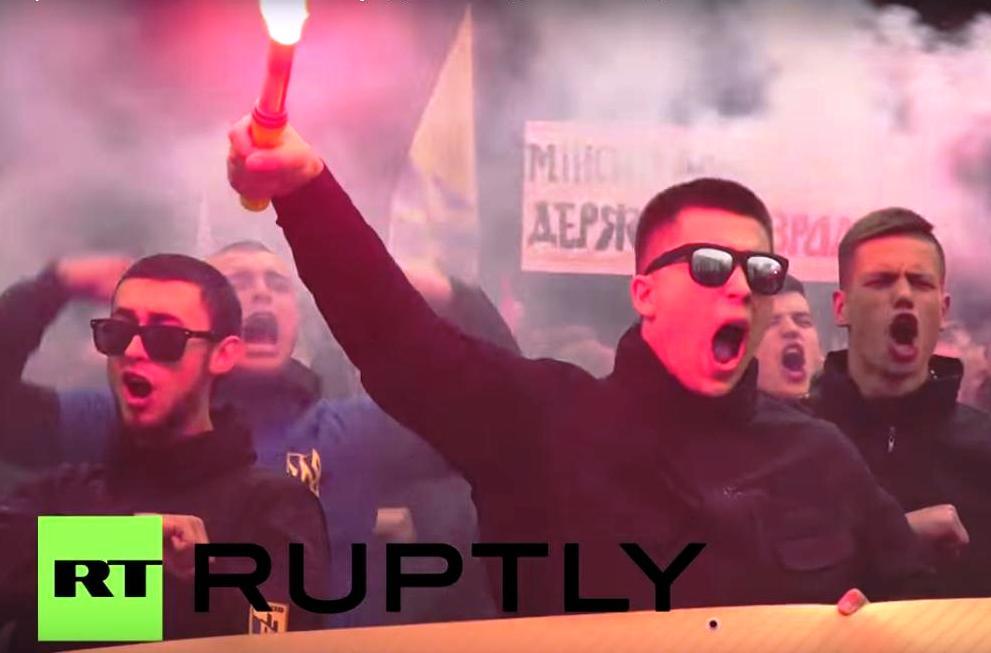 Pochod Azovu v Kyjeve5