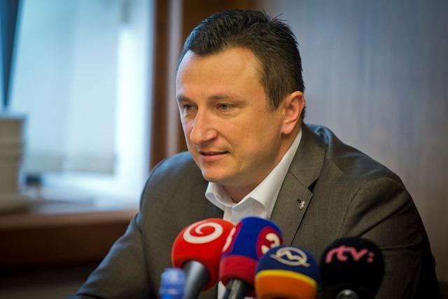 Na snímke riaditeľ Fakultnej nemocnice s poliklinikou v Prešove Radoslav Čuha