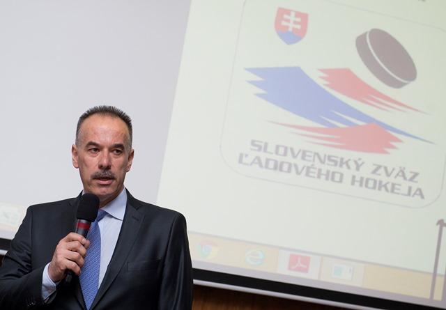 Na snímke prezident SZĽH Igor Nemeček