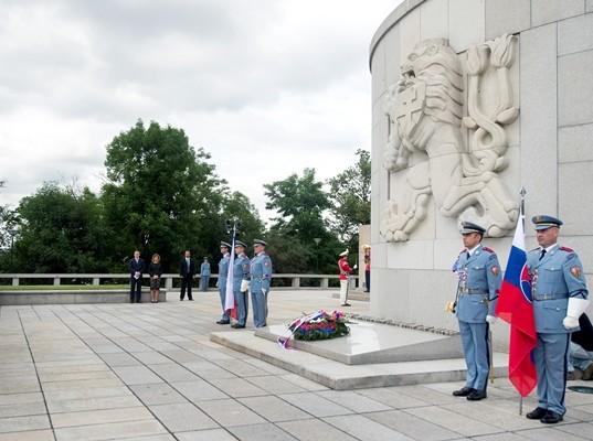 Na snímke Národný pamätník Vítkov