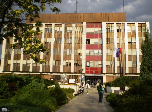 Na snímke mestské zastupiteľstvo v Nitre