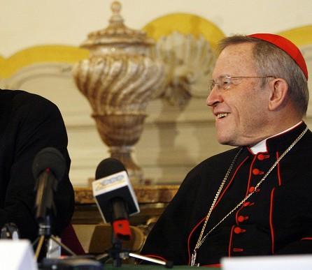 Na snímke nemecký kardinál Walter Kasper