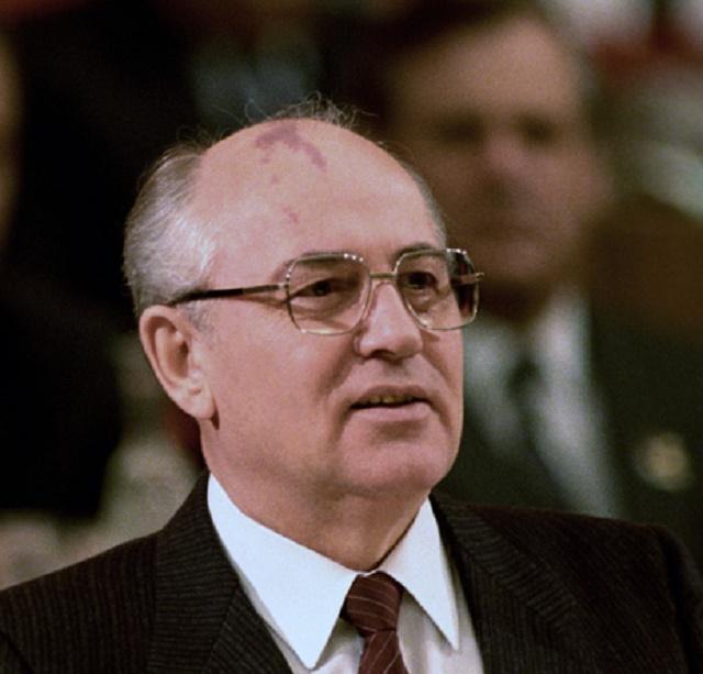 Michail Sergejevič Gorbačov v čase svojej najväčšej slávy
