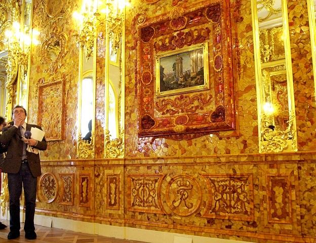 Kópia komnaty v Katarínskom paláci