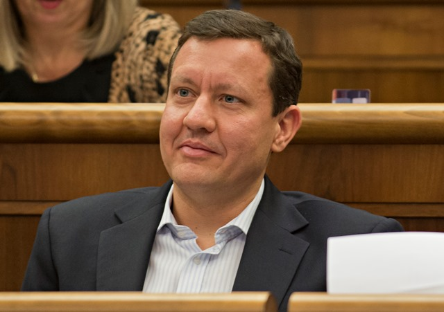Na snímke poslanec NR SR Daniel Lipšic