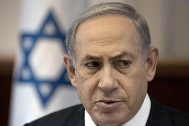 Na snímke izraelský premiér Benjamin Netanjahu