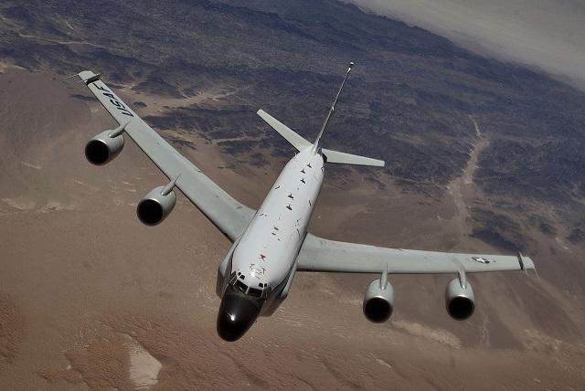 Americké špionážne lietadlo RC-135W