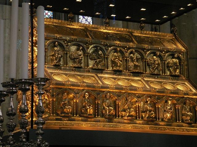 Sarkofág troch kráľov v Kolíne nad Rýnom
