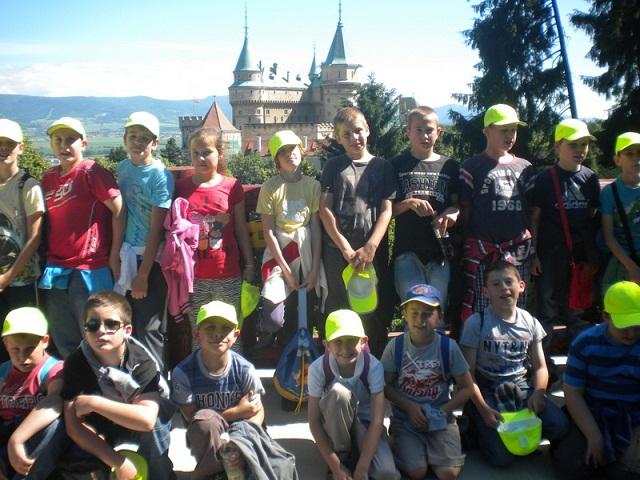 Žiaci Liečebno-výchovného sanatória na výlete v Bojniciach