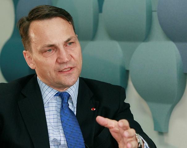 Na snímke bývalý poľský minister zahraničných vecí Radek Sikorski