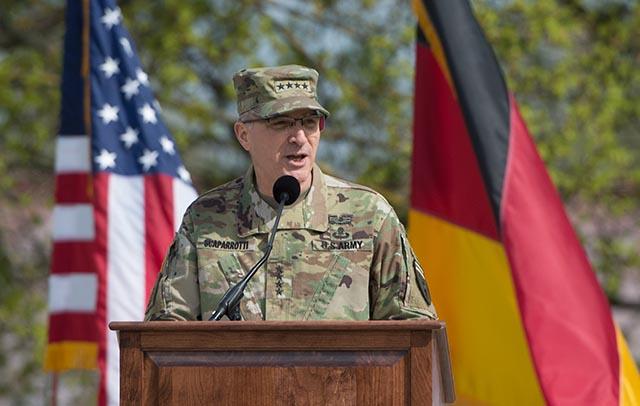 Americký generál Curtis Scaparrotti