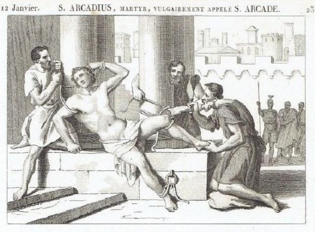 Umučenie svätého Arcadia