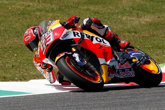Na snímke španielsky jazdec tímu Honda Repsol Marc Marquez
