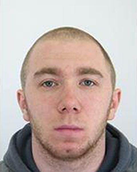 Na snímke hľadaný väzeň Ľubomír Behan