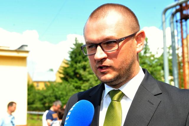Na snímke štátny tajomník ministerstva obrany SR Marián Saloň