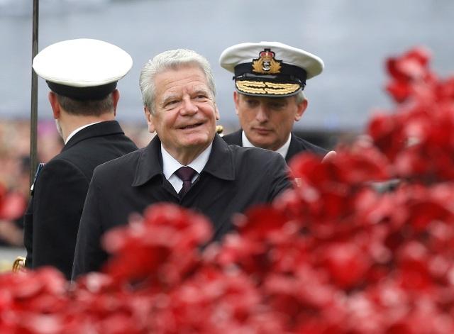 Na snímke nemecký prezident Joachim Gauck
