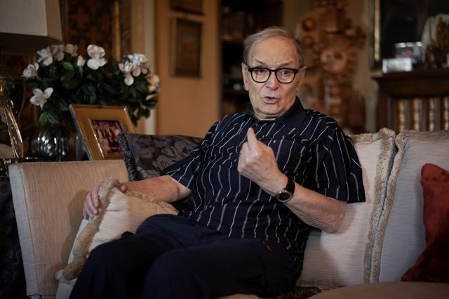 Na snímke taliansky skladateľ filmovej hudby Ennio Morricone