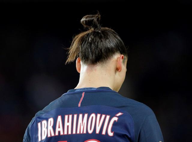 Na snímke Zlatan Ibrahimovič