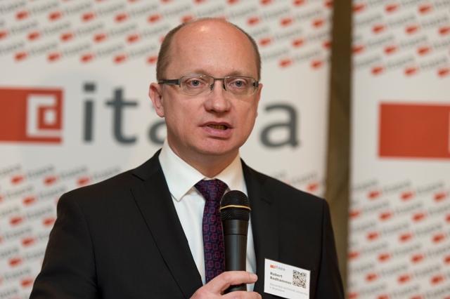 Na snímke rektor Slovenskej technickej univerzity (STU) v Bratislave Robert Redhammer