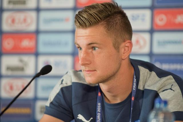 Na snímke slovenský futbalový obranca Milan Škriniar