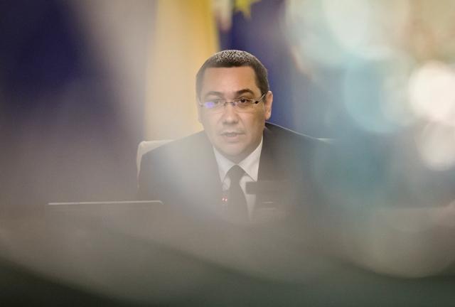 Na snímke expremiér Rumunska Victor Ponta