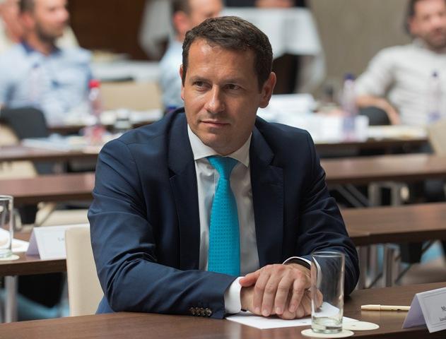 Na snímke nový prezident SZĽH Martin Kohút